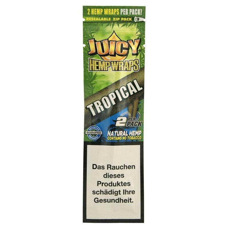 Бланты Juicy Hemp Wraps Tropical