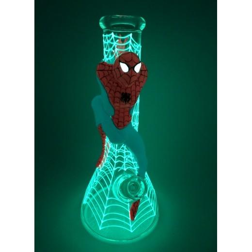 Стеклянный Бонг Hand-Drawn Spider-Man