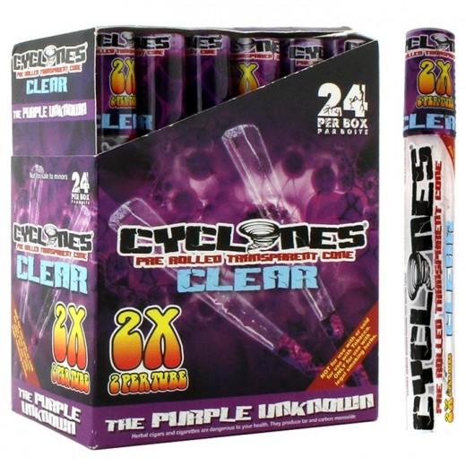 Конусы Cyclones Clear Purple