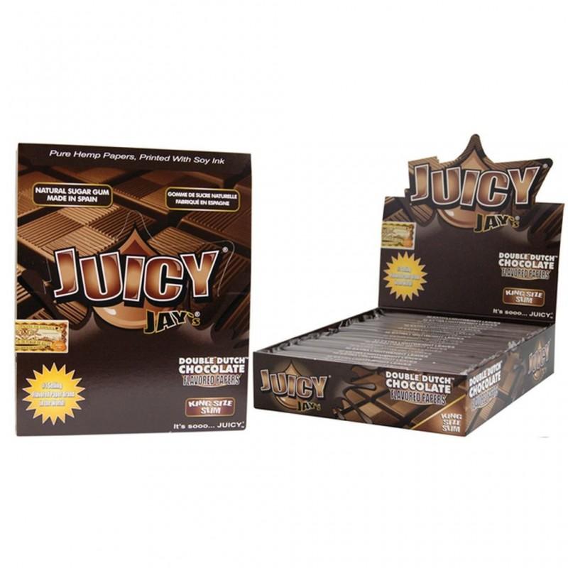 Бумага со вкусом Juicy Jay's Double Dutch Chocolate