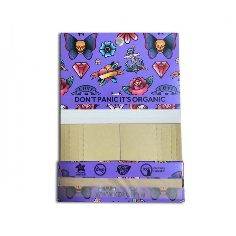 Бумага для самокруток KZR Tattoo Lilac Single Wide Wood
