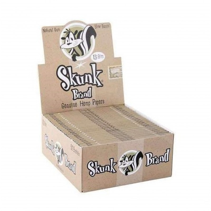 Бумага для самокруток Skunk Classic King Size Hemp