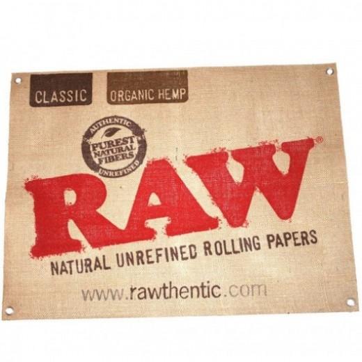 Вывеска RAW Canvas Sign