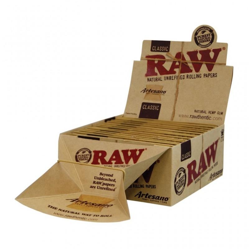 Бумага для самокруток RAW Artesano King Size
