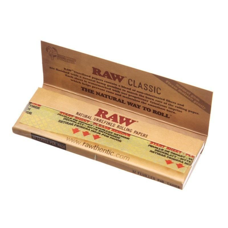 "Бумага для самокруток RAW Classic 1¼"""