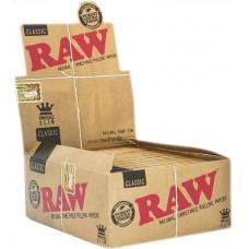 Бумага для самокруток RAW Classic King Size