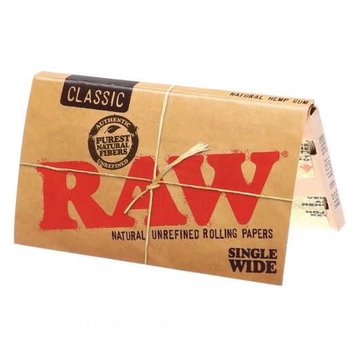 Бумага для самокруток RAW Classic SW Double Window