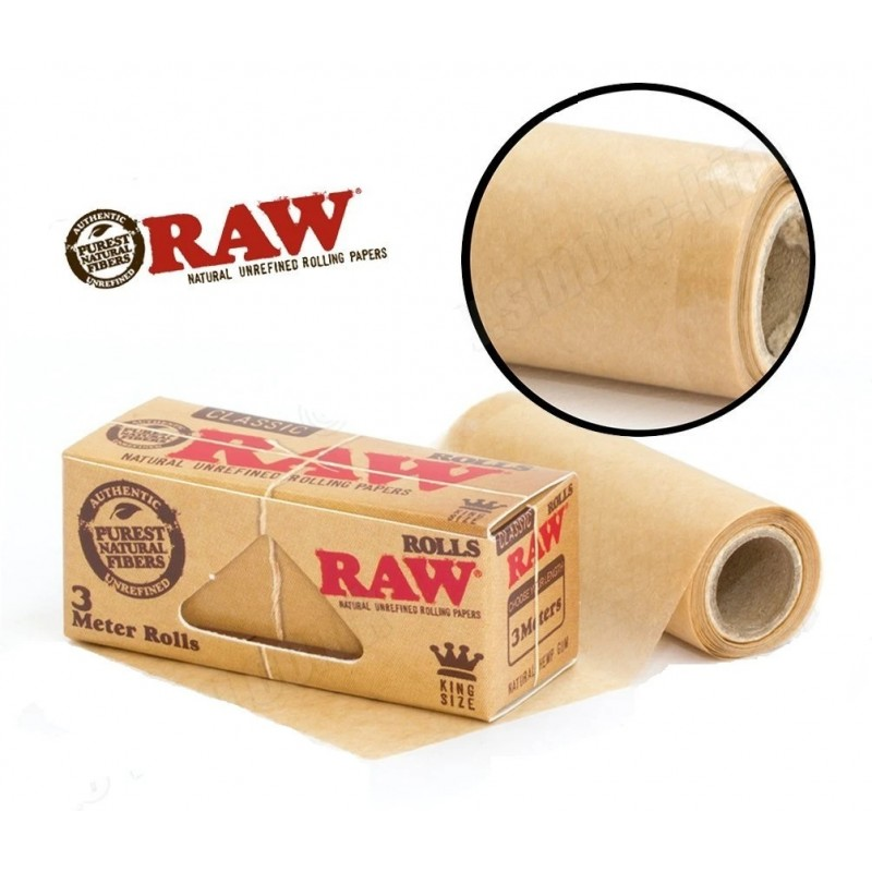 Бумага в рулоне RAW Classic King Size