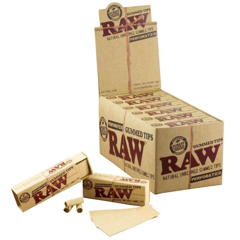 Фильтры для самокруток RAW Gummed