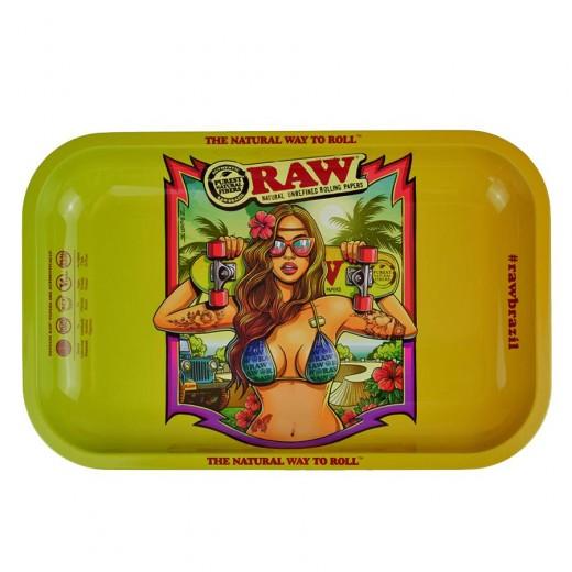 Поднос RAW Brazil Girl Small